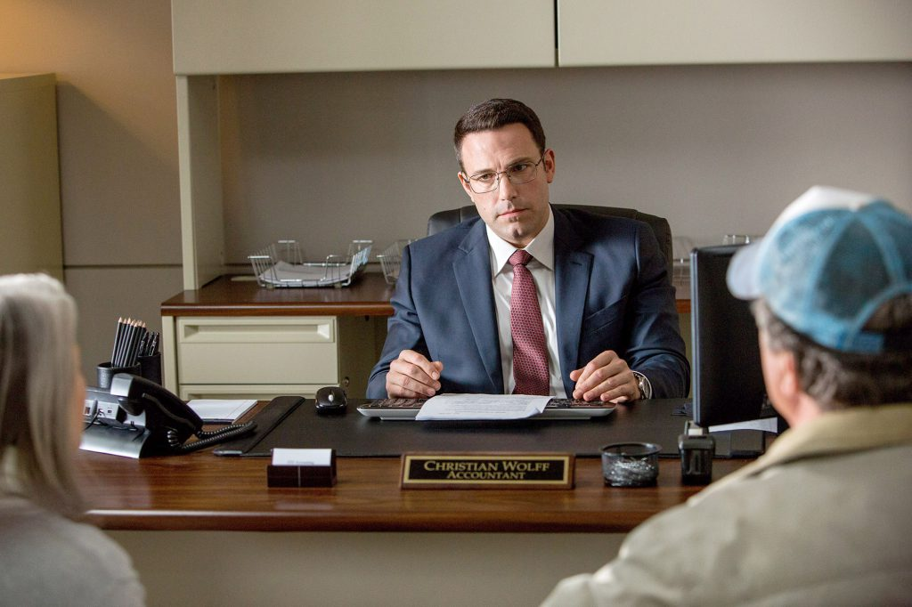 "Ben Affleck as Christian Wolff in ""The Accountant."" MUST CREDIT: Chuck Zlotnick, Warner Bros. Pictures"